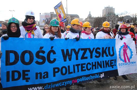Women Manifestation, Warsaw, 8th of March 2011