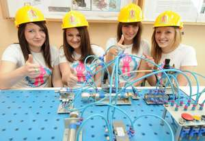 SCIENCE and TECHNOLOGY is THE GIRL-THING