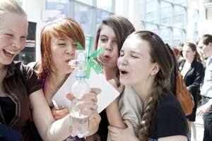 Girls have fun at Day for Girls 2012