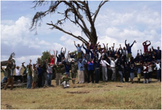 Coming together to improve rhino habitat