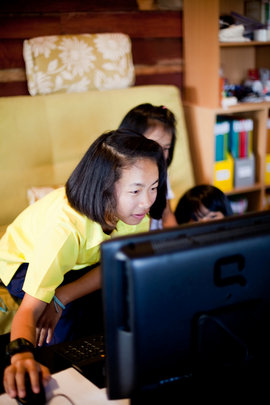 Computer Lab for 100 At-risk Children in Thailand