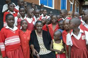 School proprietor and client Rosemary Namande