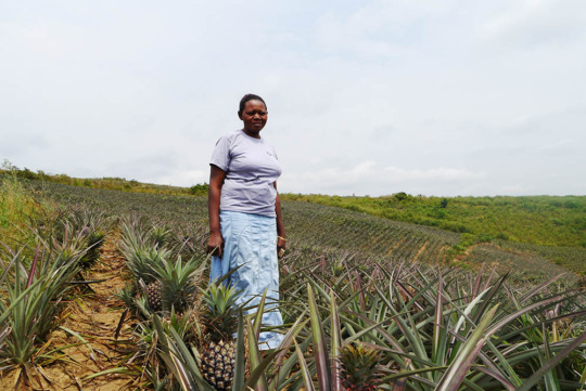 Proscovia on her farm in Masaka, Uganda