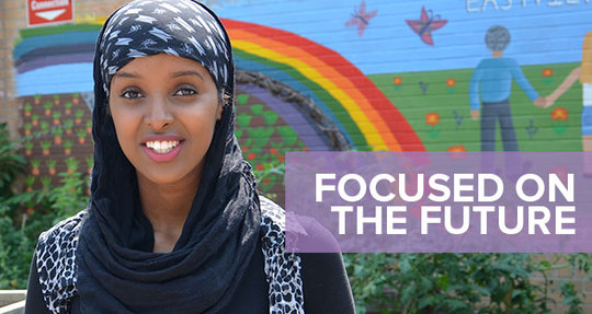 Asma - Future Shop Scholarship Recipient