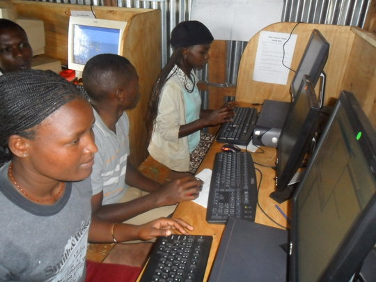 Computer Skills for 50 Needy Youths in Kenya