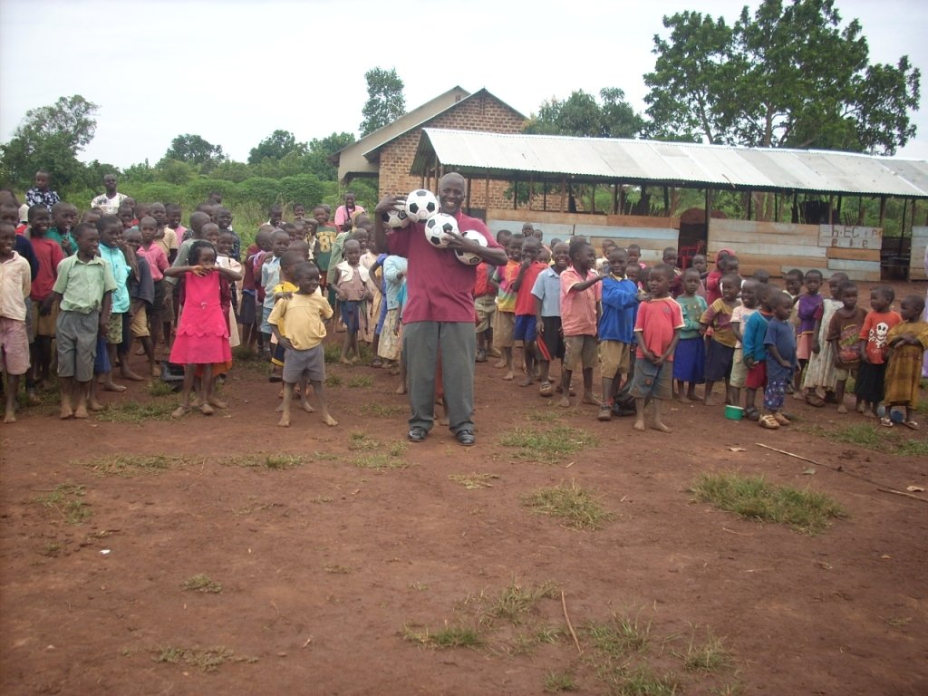 Mr.Kato,the co-founder was deeply overwhelmed when the organisation decided to purchase the Balls for the Orphanage School. He told the members that he was so happy because the balls were going to play a big roll in reducing stress from our children