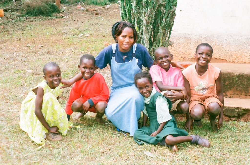 Teacher Lydia, A teacher at Connery School for EDAPO Orphans was so moved when at one weekend children surrounded her after Lunch and expressed their happiness after total satisfaction, requesting her to teach them how to pray asking God to continue blessing the orphanage with such a meal forever.