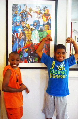 Turn 250 Philadelphia kids into comic book writers