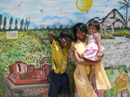 Children at Kalki