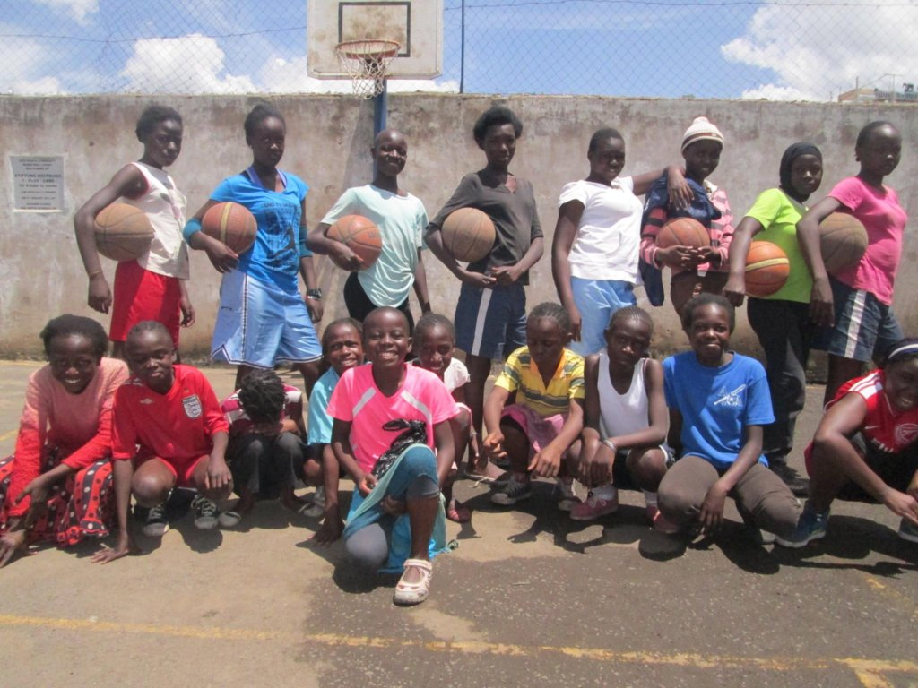Safe Spaces basketball team