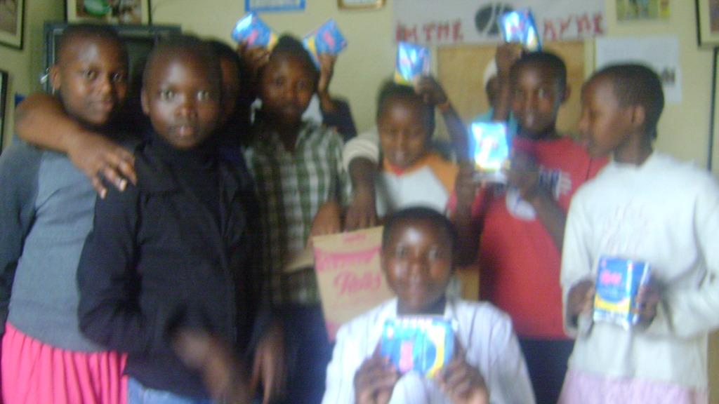 Girls who attended FGM workshop