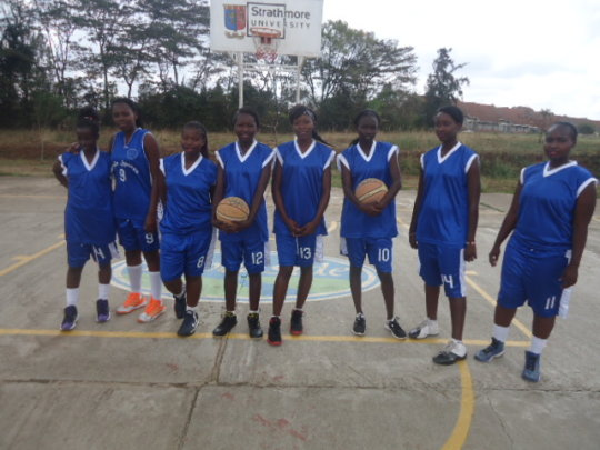 our basketball team