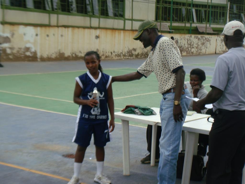 Basketball HelpsTeenager Overcome Early Marriage
