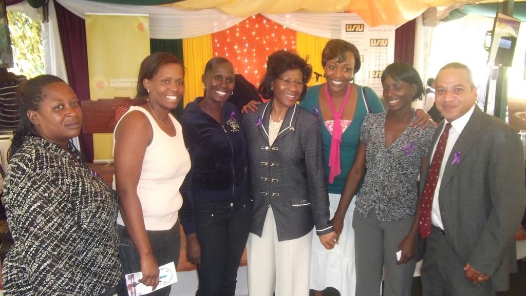 Safe Spaces Meets Mrs. Michael Jordan in Kenya
