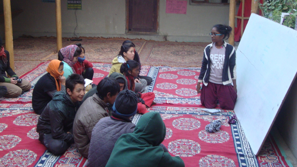 Gender and Sexuality Workshop with SECMOL Students