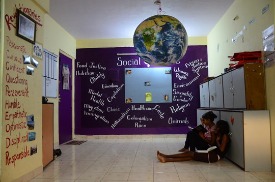 Our Social Justice wall.