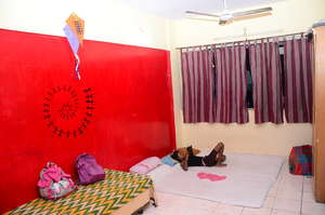 Red Bed room.