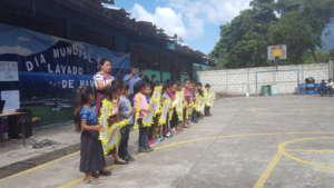 Activities at Tzan'chaj Primary School