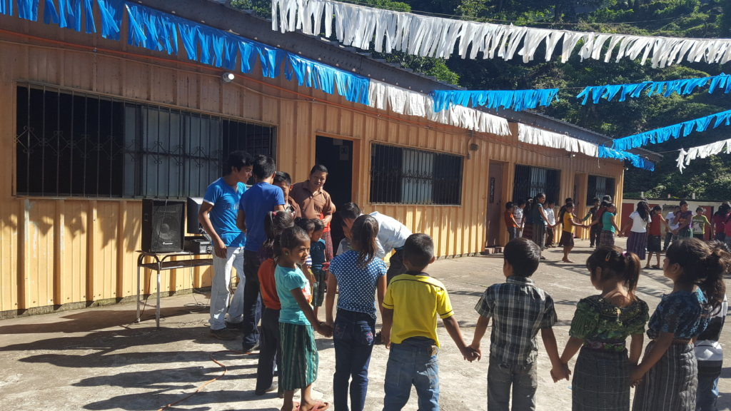 Global Handwashing Day at Nueva Providencia School
