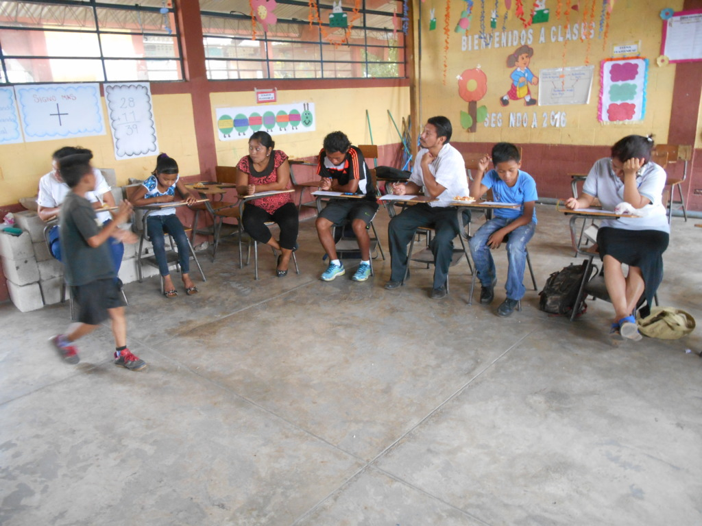 WASH training at San Juan Mirador