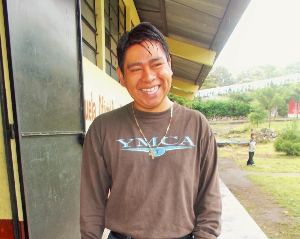Mr.Castro at Totolya School