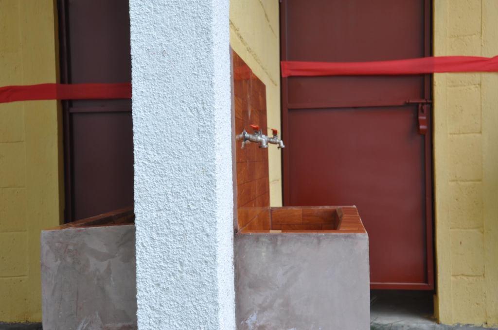 New handwashing station at the upper school