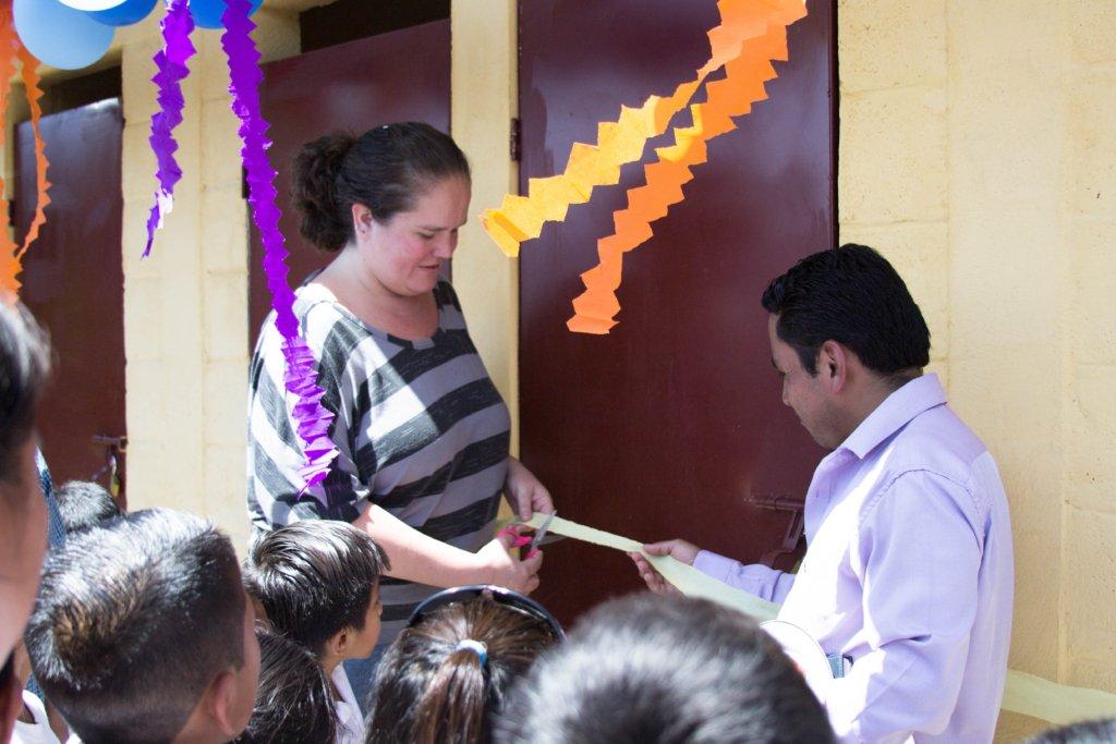 WASH inauguration at San Juan Mirador