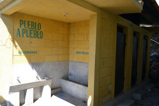 New WASH facilities in the Panimaquip School