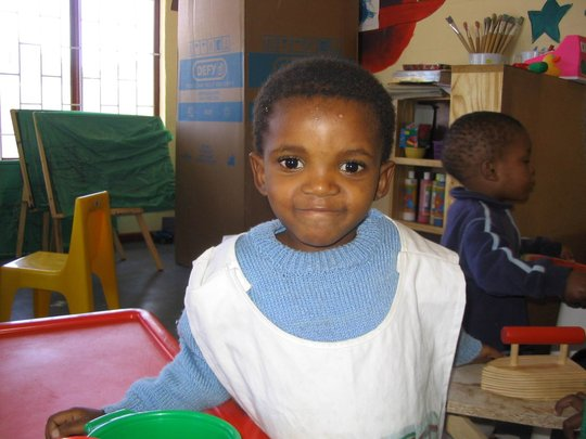 Support 80 abandoned children in Cape Town