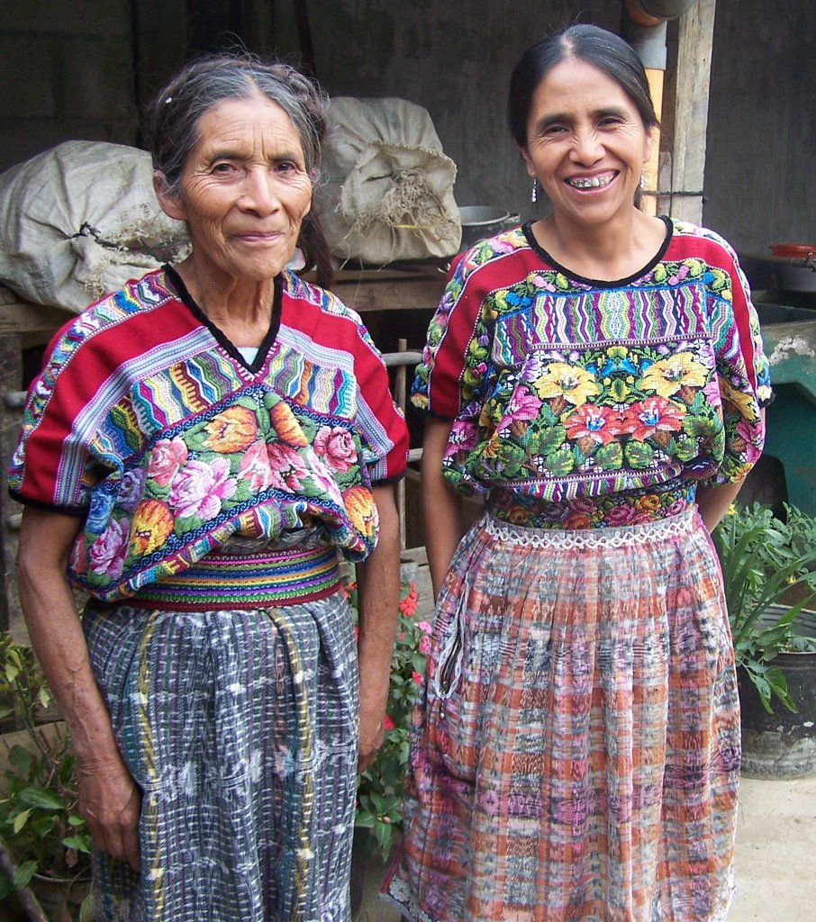 Maria Teresa and her mother