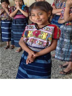 Sandra, MayaWorks' scholarship recipient