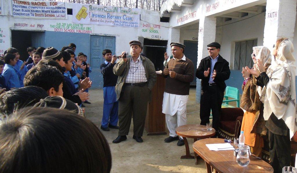 Renovate a school in Peshawar Pakistan