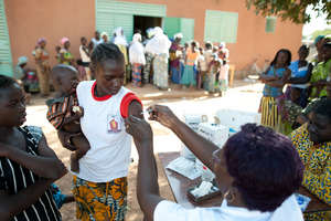 Vaccinations in villages