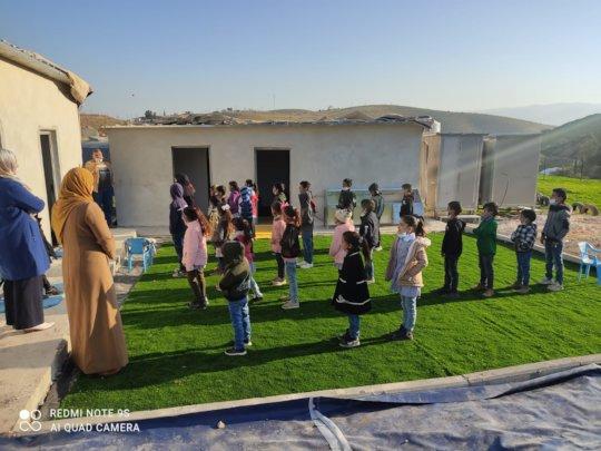 Al Maleh School, at risk for demolition