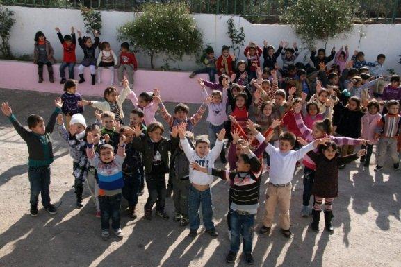 Hello from the children of Al Aqaba!