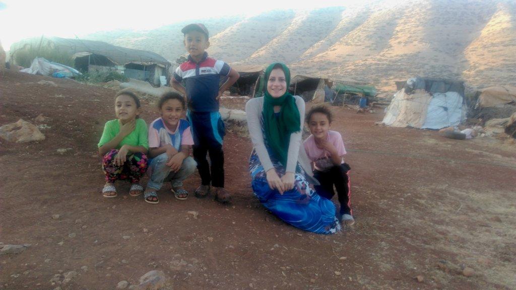 This is me, Rasha, visiting just outside Al Aqaba