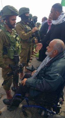 Mayor Haj Sami, Israeli Army - Settlers now GONE!