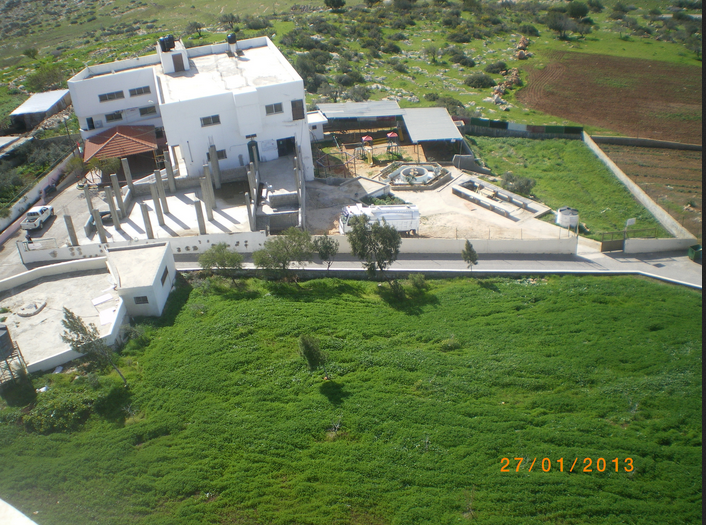Recent photo of Kindergarten as seen from Minaret