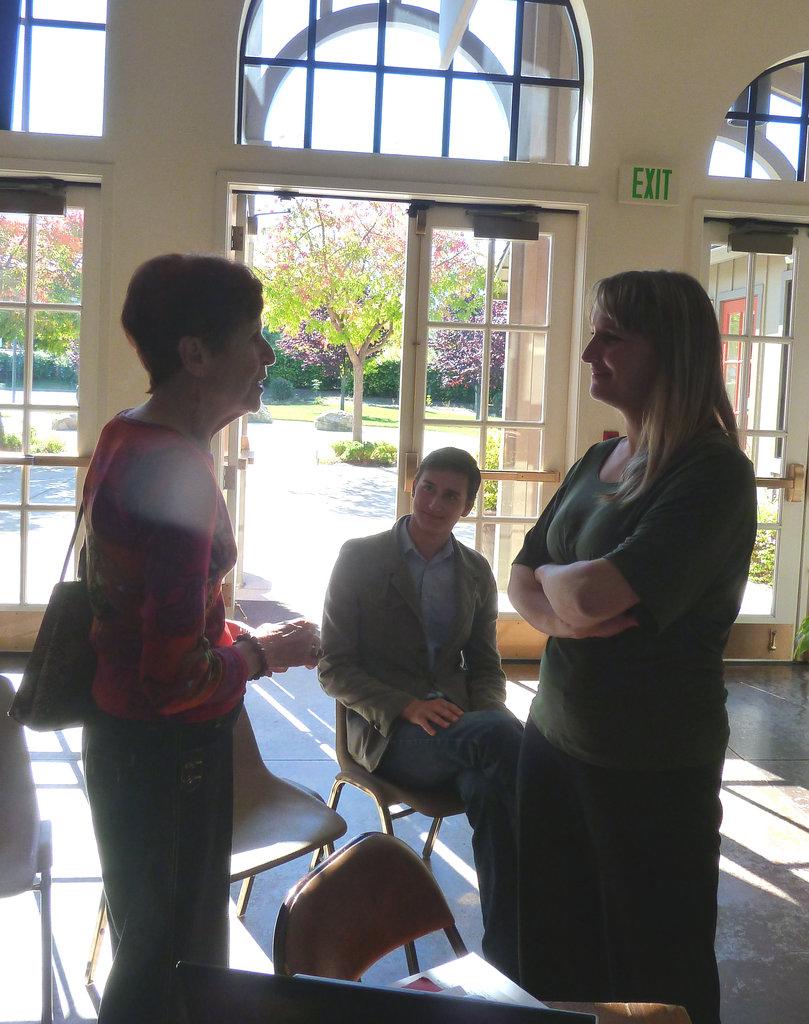 1st stop: Peace Lutheran Church in Danville CA