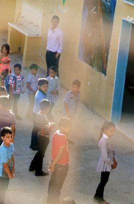 First Day of School in Al Aqaba Village
