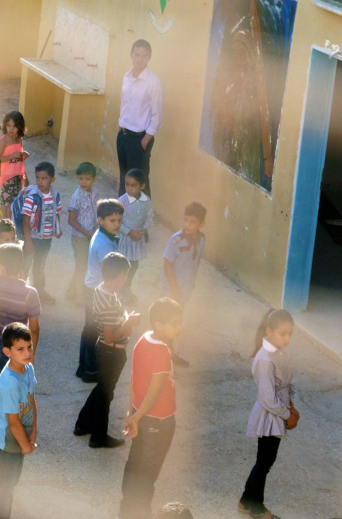 First Day of School in Al Aqaba Village