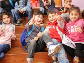 The heartening spirit of the kindergarten