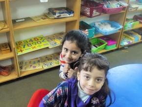 Happy children having good time