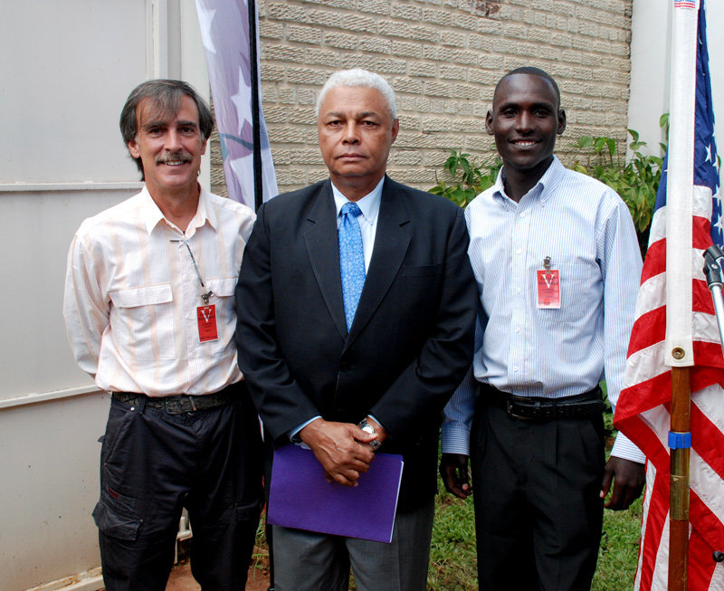 With US Ambassador at grant signing ceremony