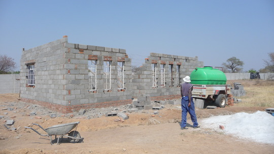 Resource Center under construction