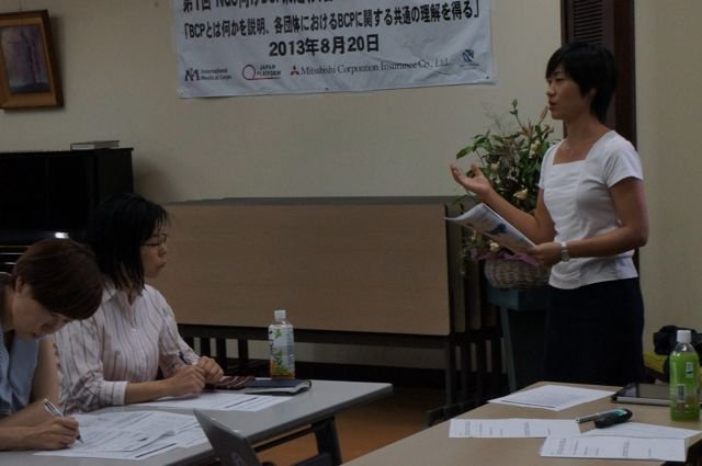 Noriko Yoichi Providing Sample Responses