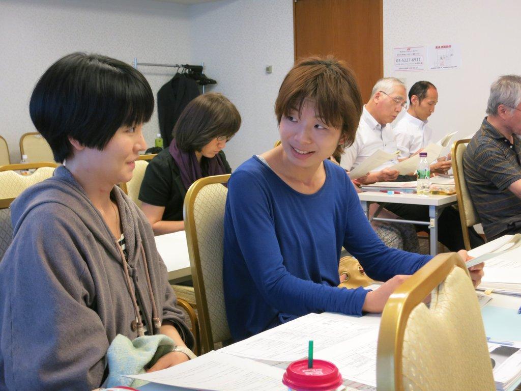 Nozomi Ashida and Atsuko Nagai from ADRA Japan