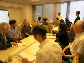 Group discussion during a workshop session