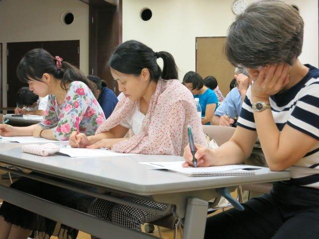 Workshop Participants Completing a BCP SImulation