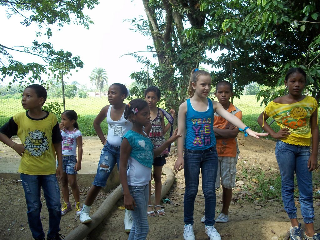 Guided tour of the children´s land